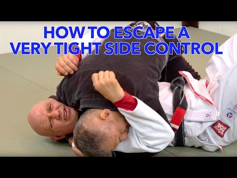 How to Escape a Really Tight Side Control