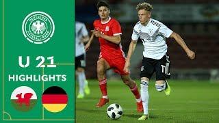 Viel Spaß mit den Highlights des U21 EM-Qualifikationsspiels zwischen Wales und Deutschland.  Abonniert jetzt unseren Kanal und aktiviert die Glocke: https://zly.de/dfb/yt_abo