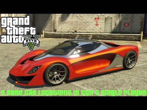 5 Rare Car Locations In GTA 5 Single Player