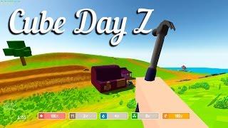 """игра """"Cube Day Z"""" вконтакте"""