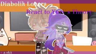 Diabolik lovers react to Yuri's Theory (+ Yuri's first bite) /// Neo UnderCha