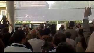 preview picture of video 'Ingresso di Papa Francesco nella Chiesa Evangelica della Riconciliazione di Caserta'