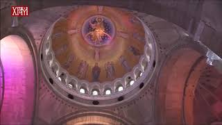 World's Largest Mosaic finished in Belgrade's Main Orthodox Cathedral's Dome