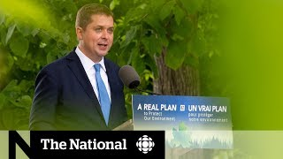 Andrew Scheer lays out Conservative climate change plan