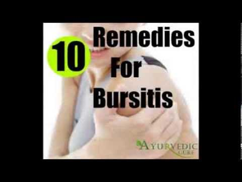 Video 10 Home Remedies For Bursitis