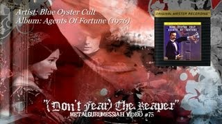 Blue Oyster Cult Dont Fear The Reaper