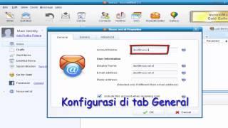 2. Setting Email di IncrediMail