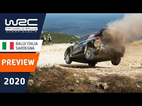 WRC ラリー・イタリア・サルディニア プレビュー動画