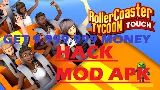 Roller Coaster Tycoon Touch Unlimited Coins & Tickets