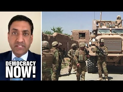"""""""A Courageous Decision"""": Rep. Ro Khanna Praises Biden's Plan to End the """"Forever War"""" in Afghanistan"""