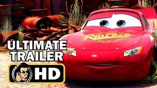 CARS Trilogy Ultimate Trailer Compilation (2006-2017) Pixar Disney Movie HD
