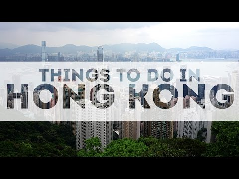 Video Best Things to do in Hong Kong & Tourist Attractions