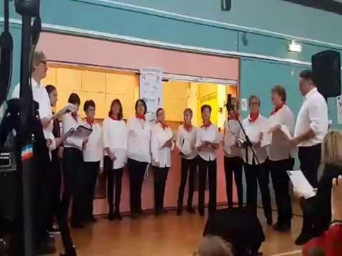 Chorale d'Albigny Danse au marché de Noël 2016