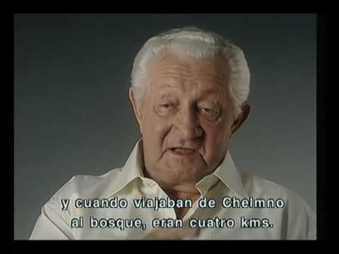 Shimón Srbrenik se refiere al asesinato en los camiones de gas en el campo de exterminio de Chelmno