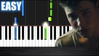 Shawn Mendes - Treat You Better - EASY Piano Tutorial by PlutaX