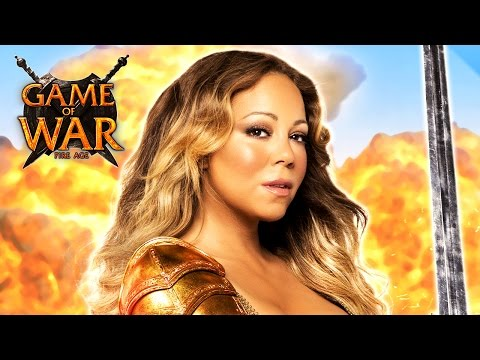 Mariah Carey Is Busty Butt Kicking Warrior In New Game Of War Fire Age Advert