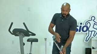 Bryan de Vries, fisioterapista: Kruk
