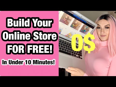How I Made My Online Store FREE In 2021 (DONT USE SHOPIFY!)