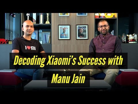 Decoding Xiaomi's success — The Manu Jain Interview | Tech2 Talks