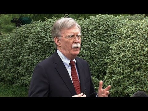 National Security Adviser John Bolton says the U.S. does not want a repeat of the violence that marred protests Tuesday. Bolton was speaking to reporters at the White House Tuesday. (May 1)