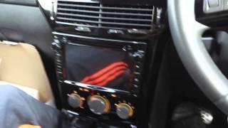 Fitting car CD player on Vauxhall Astra Eonon head