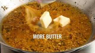 Skillet Chicken with Garlic Herb Butter Sauce