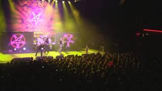 Anthrax - I'm the Man / Raining Blood - Santiago, Chile - 10/05/2013 - Teatro Caupolican