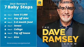Dave Ramsey's 7 Baby Steps (Wealth Building Wednesday)