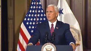 VP Pence, Veterans Affairs Secretary David Shulkin Host Honor Flight Veterans from Lafayette, IN