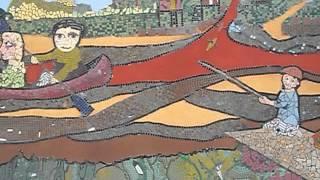 Mural mosaico Puerto de Frutos de Tigre -Altamarea- Weber (Junio 2013)