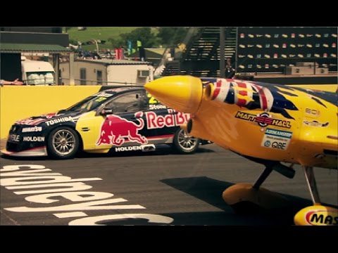 V8 Supercar Vs Plane   Top Gear Festival Sydney