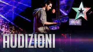 I timori e le speranze del pianista Mitja | Italia's Got Talent 2015