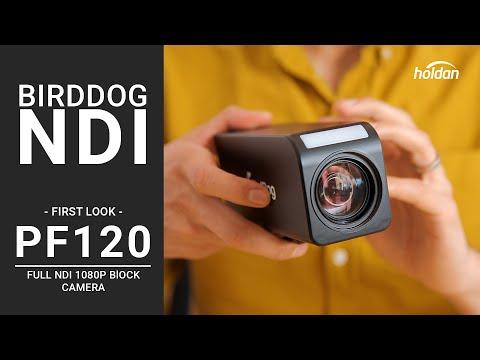 BirdDog PF120 Block Full NDI Camera | First Look