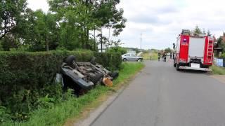 Odrzykoń - Wypadek dwóch samochodów