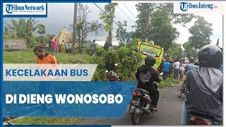 Kecelakaan Bus di Dieng Wonosobo 4 Korban Meninggal 15 Luka Berat