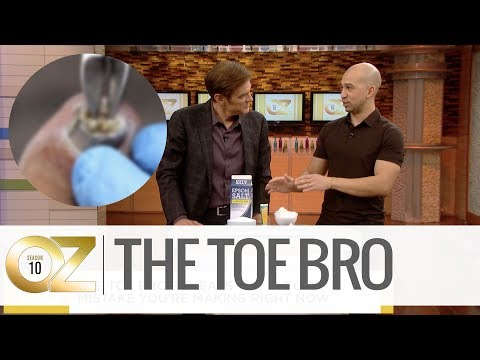 """, title : '""""The Toe Bro"""" Reveals His Hack to Treat Ingrown Toe Nails'"""