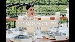 DECORATING MY HOME FOR THE HOLIDAYS, WITH BADANG RUEDA | Heart Evangelista