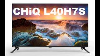 TV Chiq L40H7S Smart-TV Full HD Android Erstinbetriebnahme  Sender Programmierung