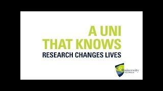 A uni that knows research changes lives