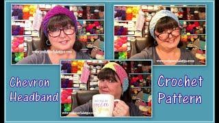 Chevron Headband Crochet Pattern
