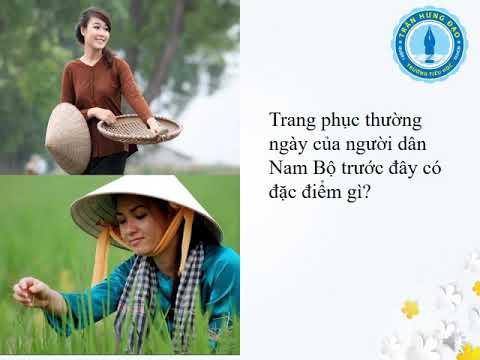 Địa lí lớp 4 bài 18: Người dân ở Đồng bằng Nam Bộ