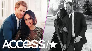 Prince Harry & Meghan Markle: How Their Engagement Photos Break All The Royal Rules | Access