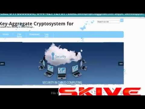 Key Aggregate Cryptosystem for Scalable Data Sharing in Cloud Storage