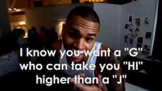 Chris Brown - ABC's W/Lyrics