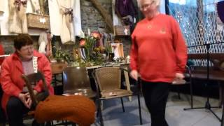 Maureen Connolly Dancing At The Christmas Cois Tine Event In Craftshop Na Méar
