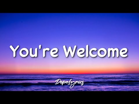 Flexprophet - You're Welcome (Lyrics) 🎵