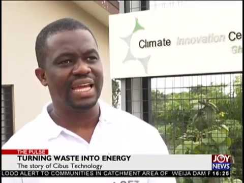Turning Waste into Energy - The Pulse on JoyNews (12-10-18)