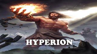 HYPERION   Greek Titan God of Heavenly Light Greek Mythology