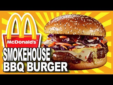 McDonald's Smokehouse BBQ Angus Burger Review