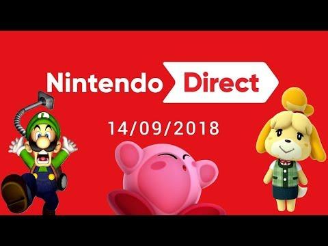 Nintendo Direct 14/09 - Animal Crossing, Luigi's Mansion 3 - Réaction de l'AR en live ! (видео)